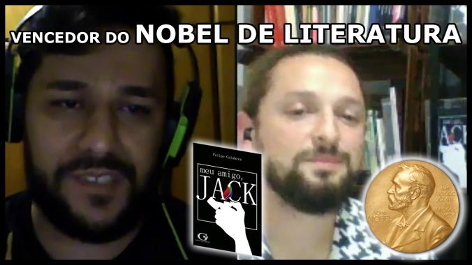 Entrevista com Brasileiro que ganhou prêmio Nobel de Literatura com o livro Meu Amigo Jack